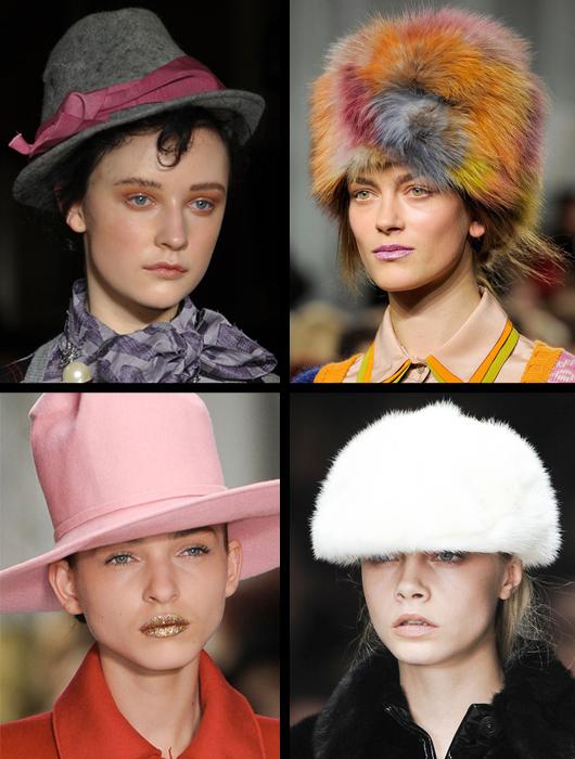 VLC Trends: Gorros y Sombreros para este Invierno 2012