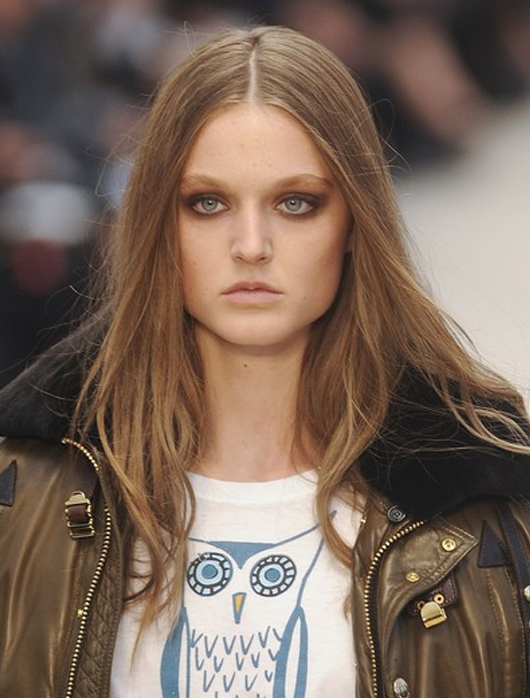 Lieve Dannau, la modelo chilena que desfila en London Fashion Week