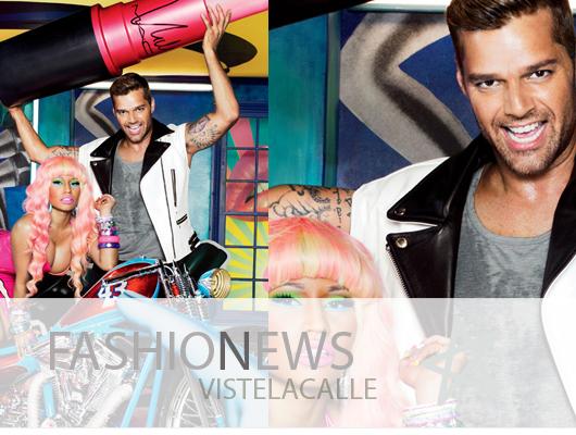 Fashion News: Nicki Minaj y Ricky Martin para MAC, Versace rinde culto a Lisbeth Salander y Susan Sarandon modela para Neiman Marcus