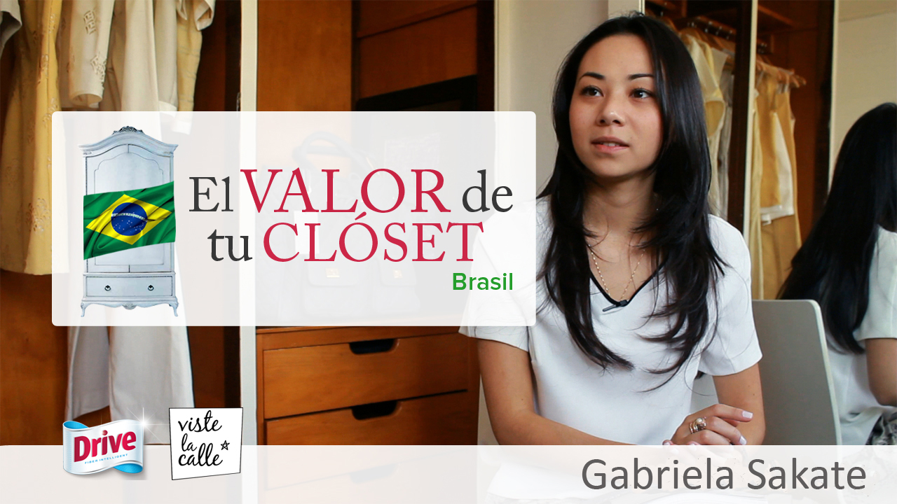El Valor de Tu Clóset Brasil: Gabriela Sakate