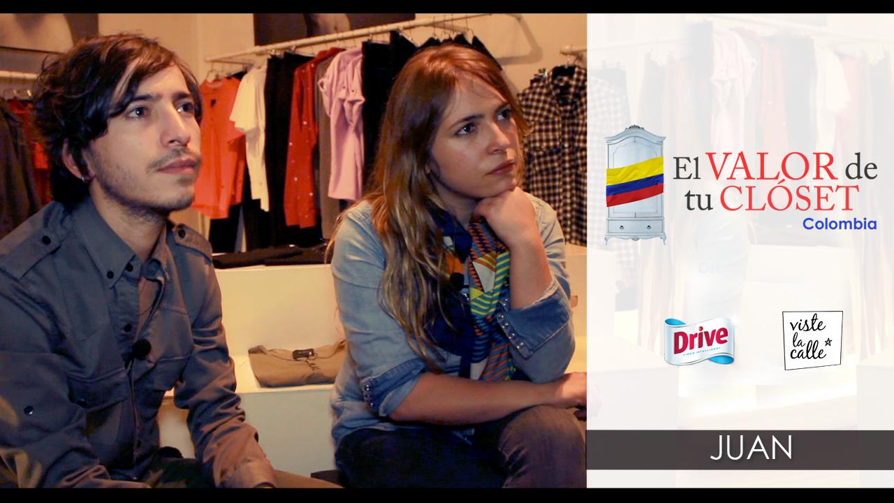 El Valor de tu Clóset Colombia: JUAN