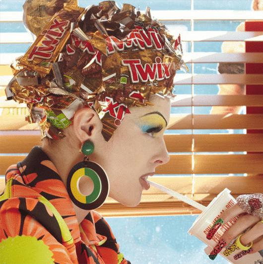 """Haute Mess"": la controversial editorial de Vogue Italia"