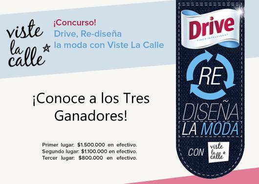 """¡Conoce a los tres ganadores de """"Drive Re Diseña la Moda""""!"""