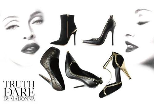 Truth or dare: Nueva colección de zapatos de Madonna