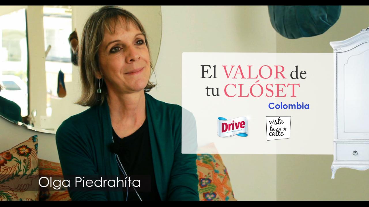 El Valor de tu Clóset Colombia: Olga Piedrahíta