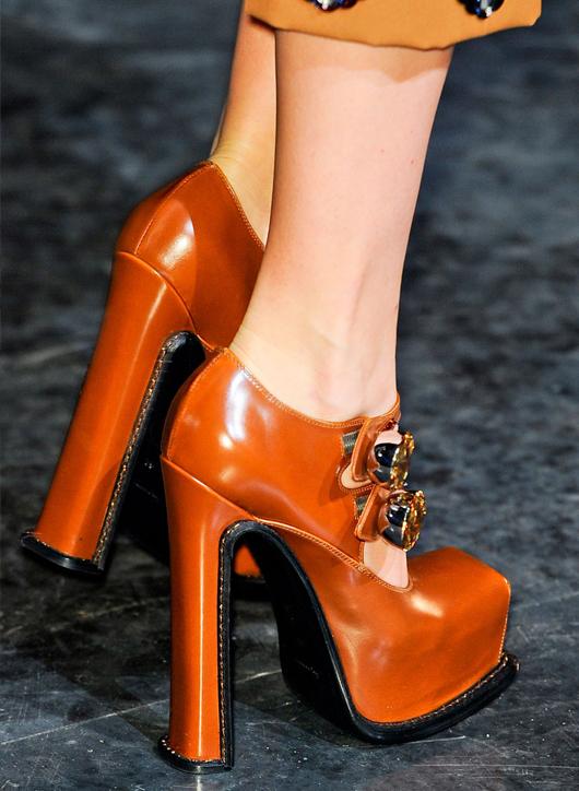 Los zapatos de las pasarelas otoño/invierno 2012-2013