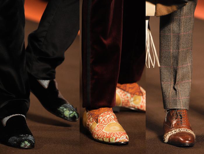 Los Zapatos Masculinos de las Pasarelas Otoño-Invierno 2012/2013