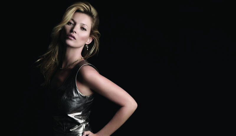 Se viene la tercera campaña de Kate Moss para Basement/Falabella