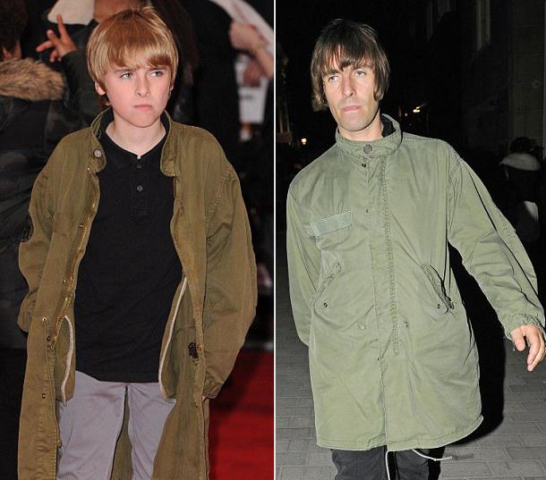 Gene Gallagher, el mini me de Liam