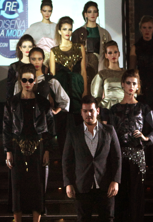 Ignacio Gallardo: ganador del segundo lugar de Drive Re Diseña la Moda