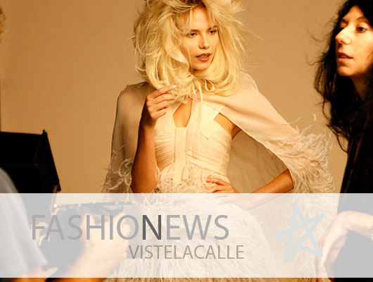 Fashion News: Gran Bretaña lanza estampillas a la moda, Natasha Poly se convierte en el rostro de un perfume de Givenchy y la portada de Noomi Rapace para Dazed & Confused