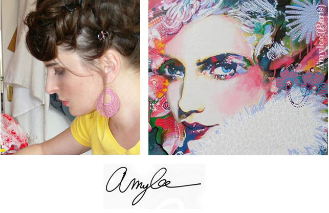 Entrevista a la artista plástica francesa Amylee
