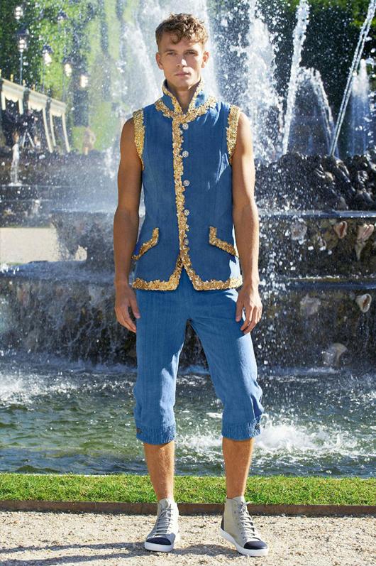 Chanel y sus prendas masculinas en Versailles