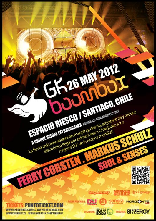 ¡Ganadores del Concurso Express GK BoomBox!
