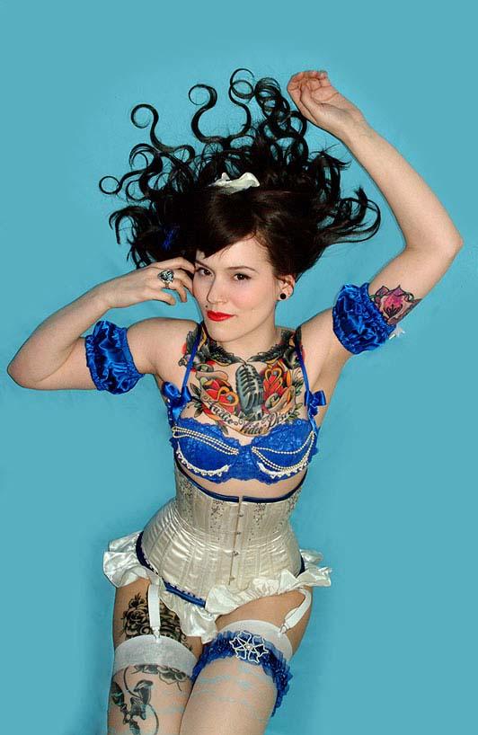 Beatrix Von Bourbon, la nueva estrella del burlesque