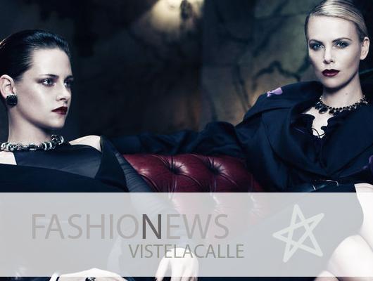 Fashion News: Karmen Pedaru para Gucci Pre Fall 2012, la portada de Interview con Charlize Theron y Kristen Stewart y Reclaim to Wear colaborará con Topshop