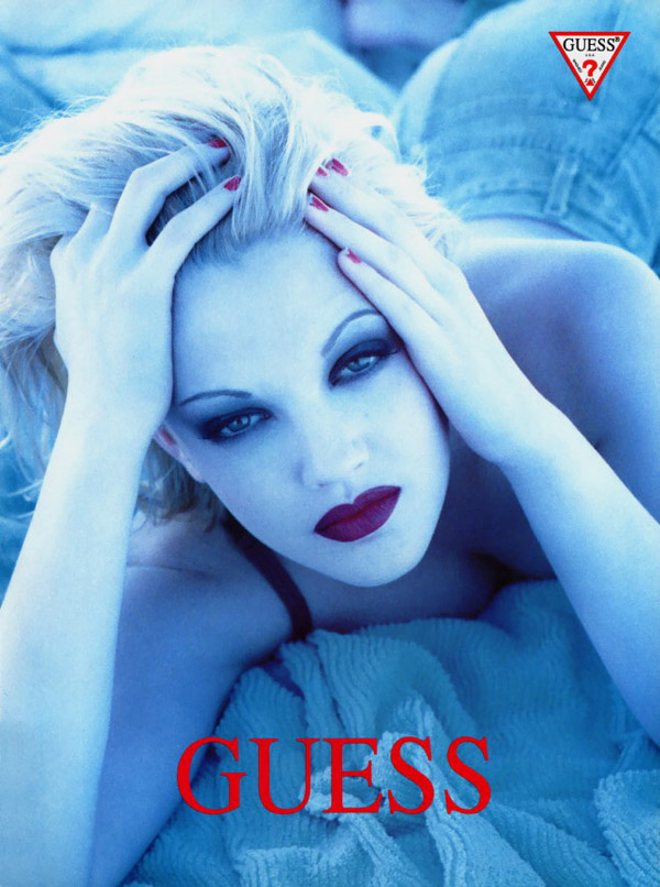 Flashback: Drew Barrymore para Guess?
