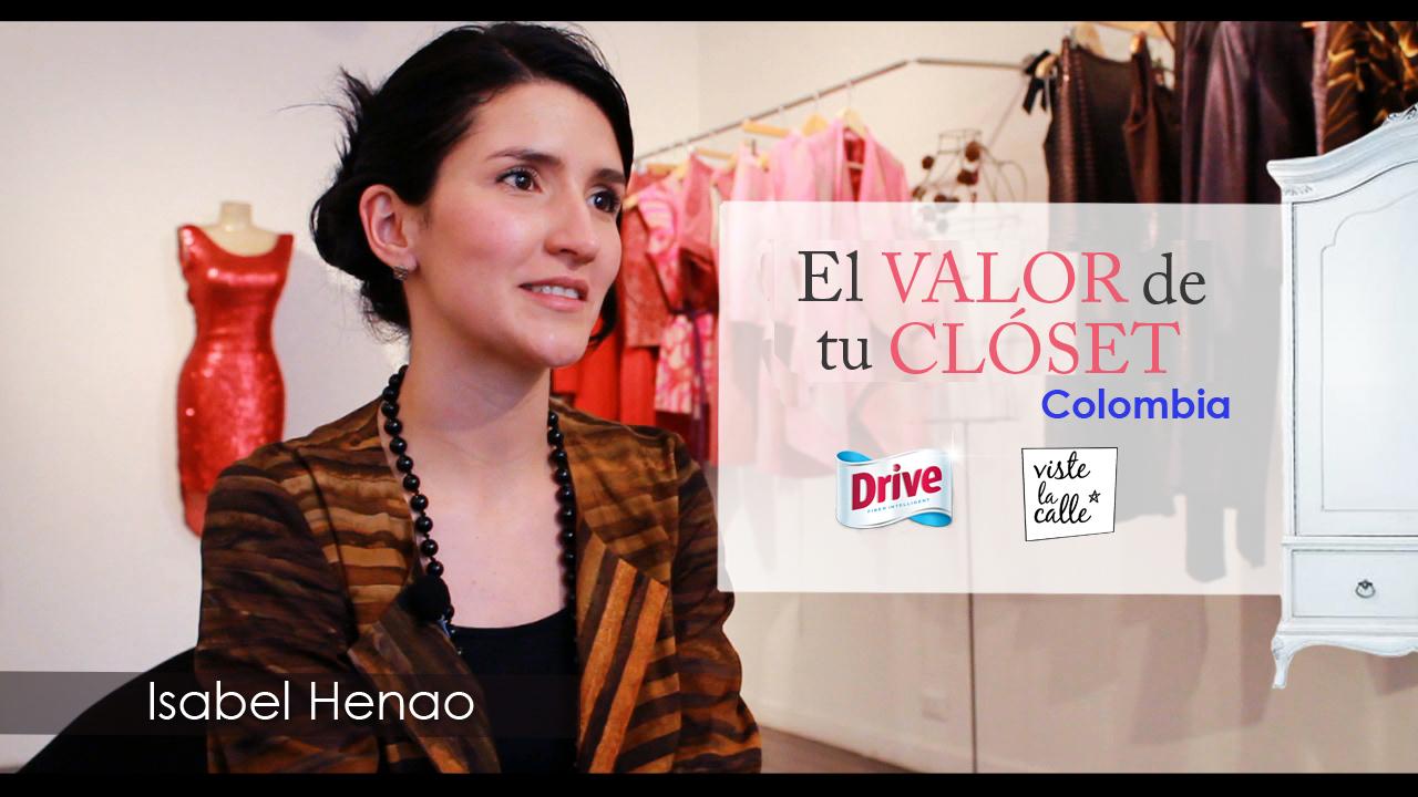 El Valor de Tu Clóset Colombia: Isabel Henao