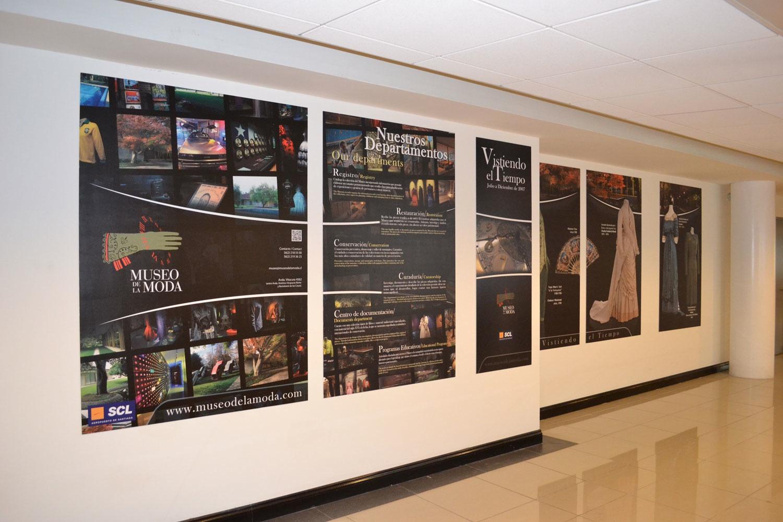 El Museo de La Moda se toma el Aeropuerto