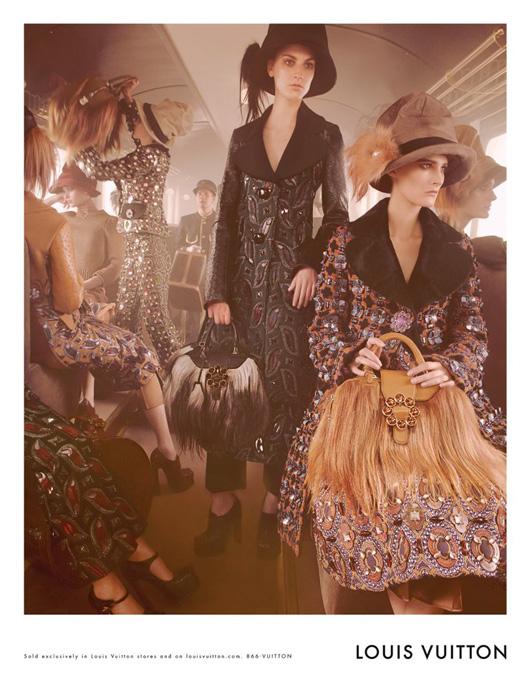 La Campaña de Louis Vuitton Otoño/Invierno 2012-2013