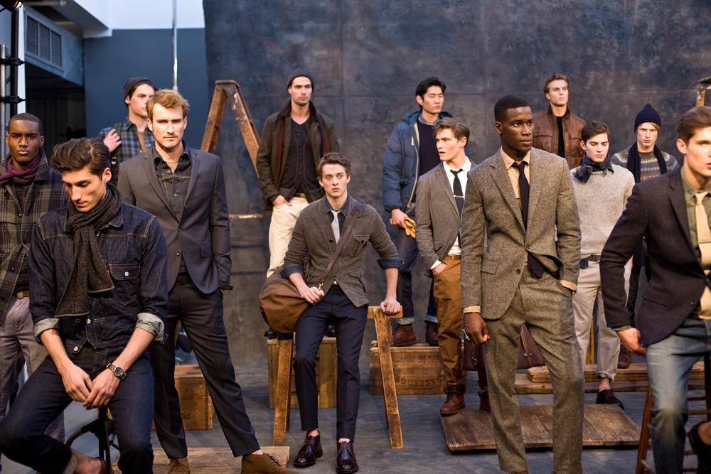 El mercado de la moda masculina
