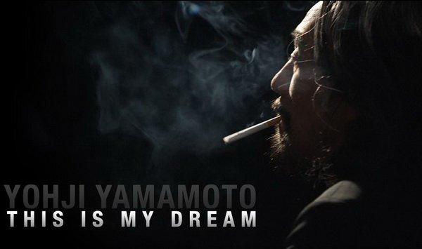 Yohji Yamamoto y el cine
