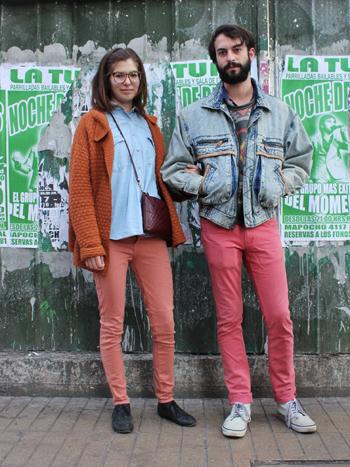 Raisa Bosich y Javier González
