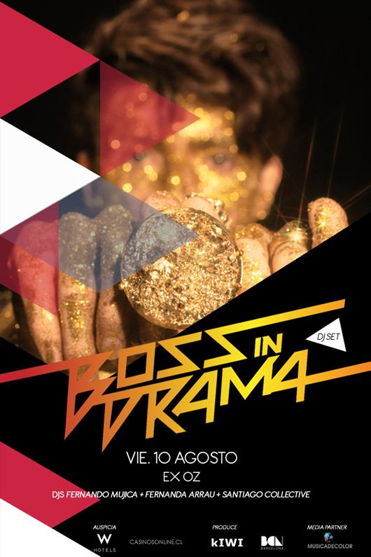 Concurso: Gana entradas para Boss in Drama en Chile