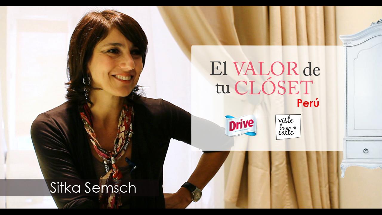 El Valor de tu Clóset Perú: Sitka Semsch