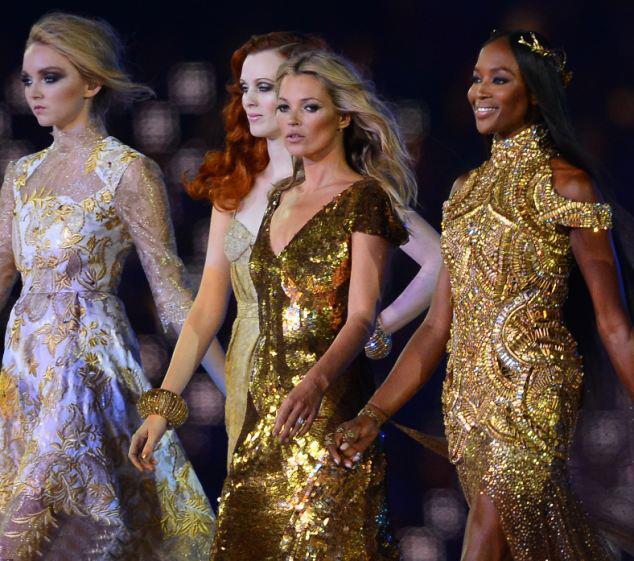 La ceremonia de clausura de Londres 2012 y la industria de la moda