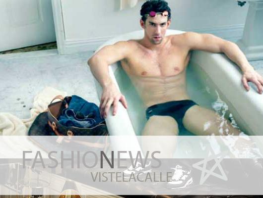 Fashion News: Michael Phelps para Louis Vuitton, el nuevo blog de Juanito Yarur y el mismo vestido para tres portadas de Vogue Paris