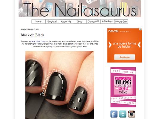 El culto a las uñas con The Nailasaurus