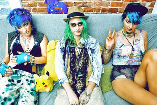 Seapunks, la tribu urbana que nació en internet