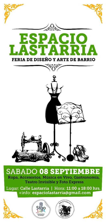 Nueva feria en el Barrio Bellas Artes: Espacio Lastarria