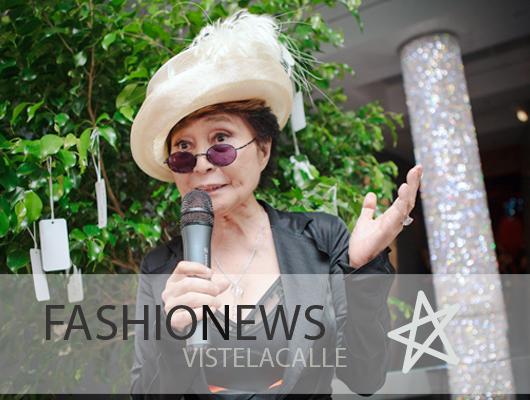 Fashion News: Moda Solidaria en Viña, Katie Holmes para Bobbi Brown y la nueva colaboración de Yoko Ono para  Swarovski