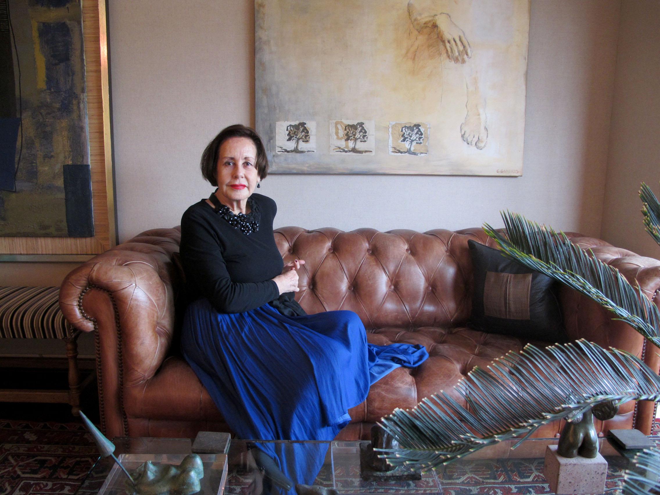 """Lucía Gallo, una de las primeras editoras de moda en Chile: """"Mi aporte fue acercar la moda a la gente"""""""