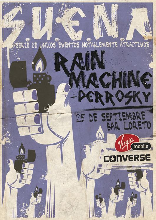 Converse y Virgin Mobile estrenan ciclo de conciertos S.U.E.N.A