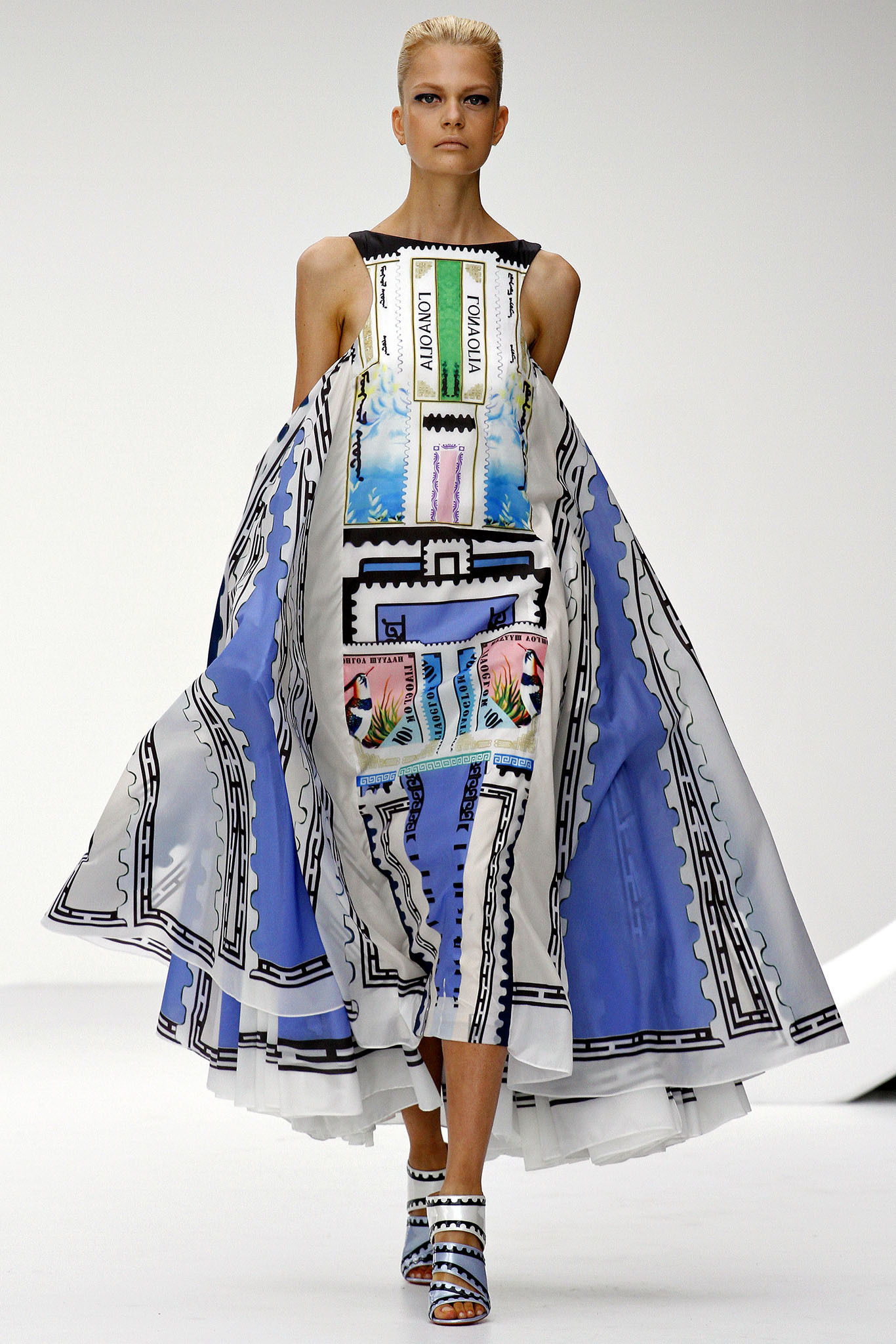 London Fashion Week S/S 2013: Mary Katrantzou