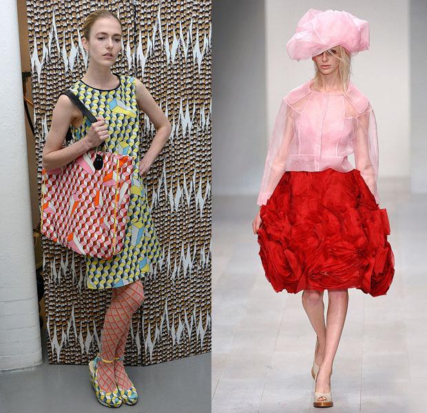 London Fashion Week S/S 2013: Eley Kishimoto y John Rocha