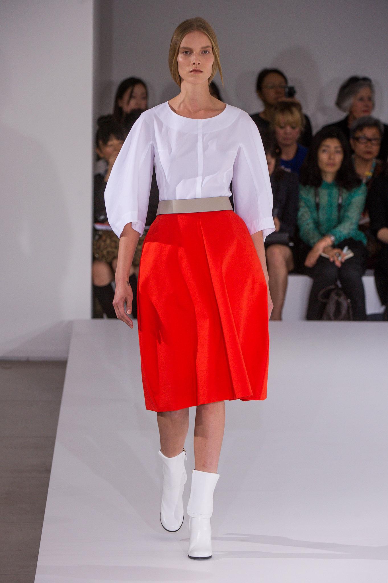 Milán Fashion Week primavera/verano 2012-2013: Jil Sander