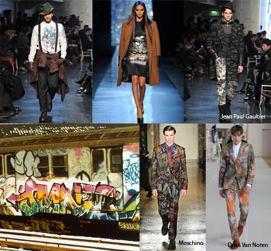 De la calle a la ropa masculina: la pintura callejera como inspiración