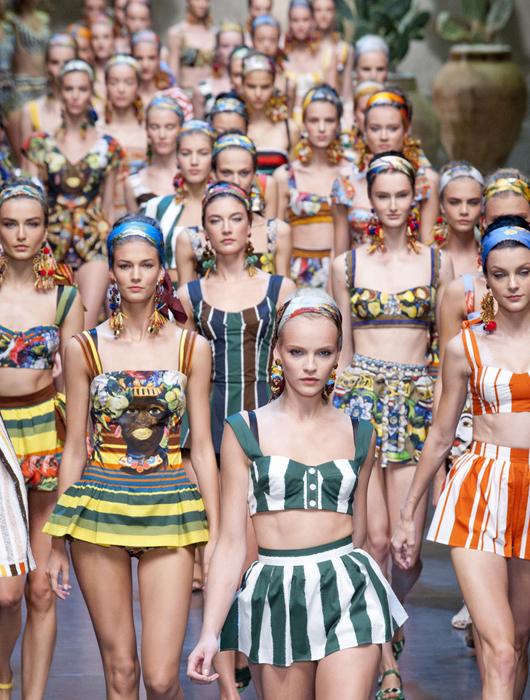 Milán Fashion Week primavera/verano 2012-2013: Dolce & Gabbana