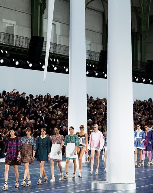 Paris Fashion Week primavera/verano 2012-2013: Chanel