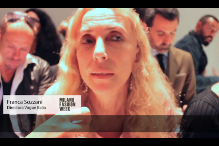 Fashion Report: VisteLaCalle en Milán Fashion Week con Franca Sozzani