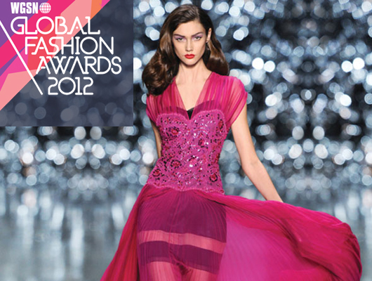 WGSN Global Fashion Awards 2012: Los Nominados