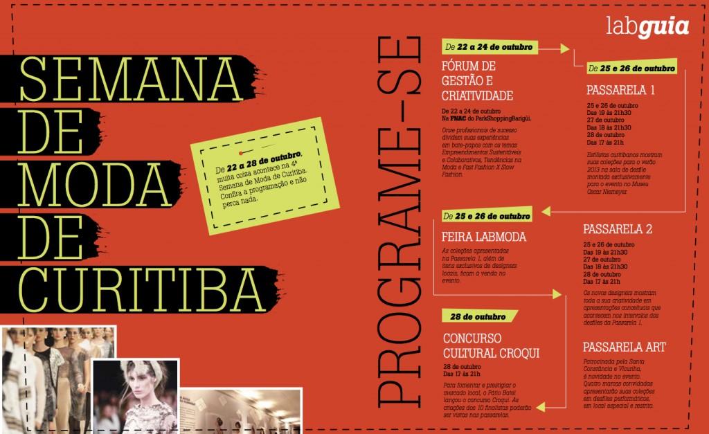 La semana de la moda de Curitiba ya tiene fechas