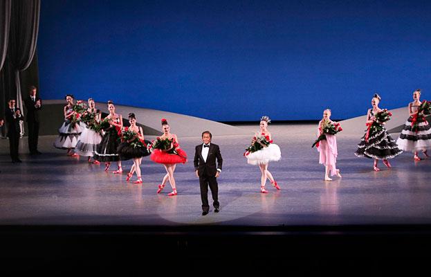 Valentino y el ballet de Nueva York