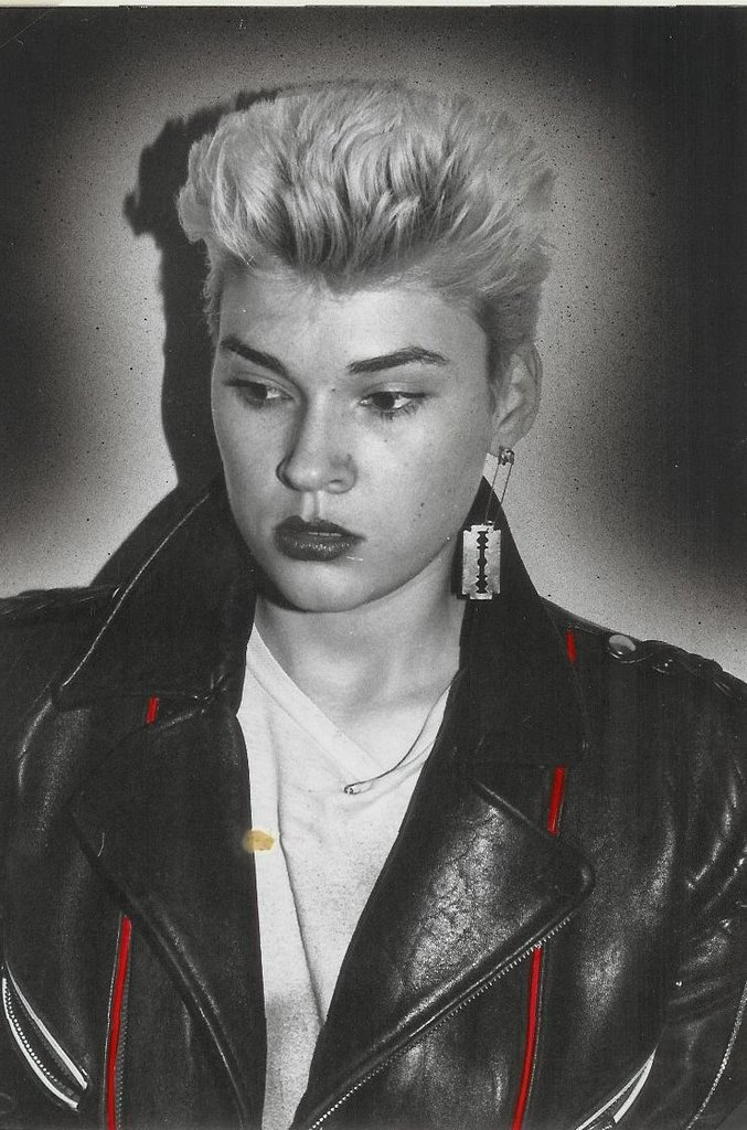Edwige Belmore, la reina del punk en la moda