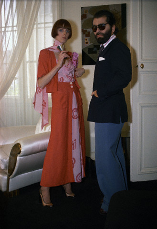 Flashback: Karl Lagerfeld para Chloé