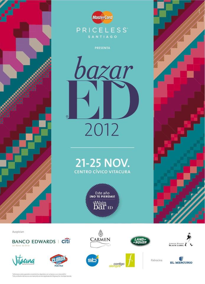 ¡Concurso Express: regalamos 8 entradas para Bazar ED 2012!